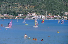 Windsurfing in Vassiliki